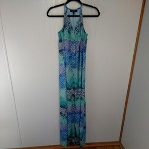 Jessica Simpson Button Front Maxi Dress Size Small
